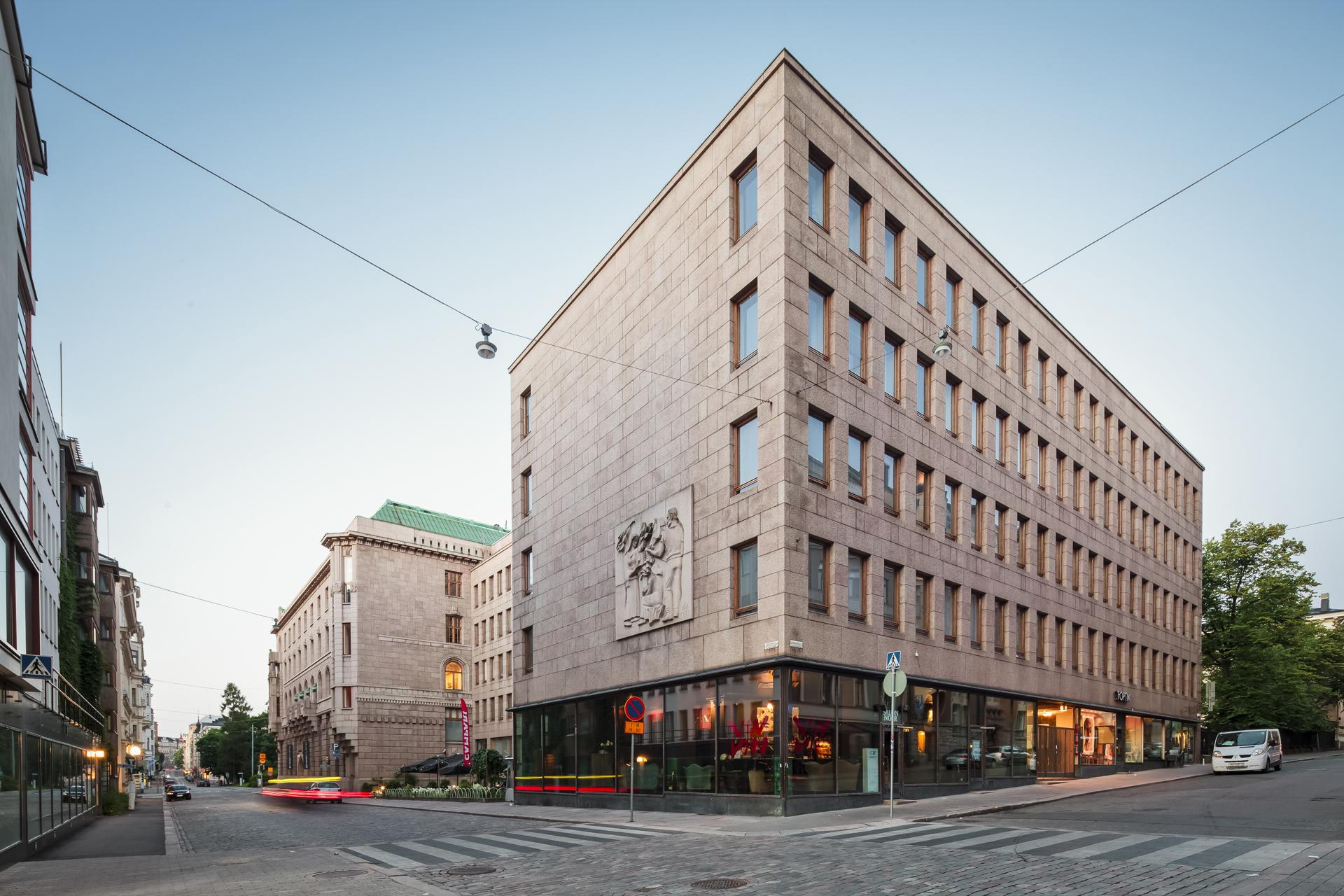 Toimitilat Helsinki | julkisivukuva
